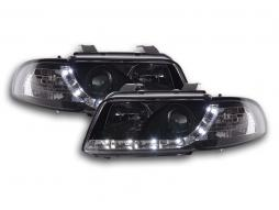 Scheinwerfer Daylight Audi A4 Typ B5 Bj. 95-99 schwarz