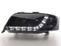 Scheinwerfer Daylight gebraucht Audi A6 Typ 4B Bj. 01-04 schwarz