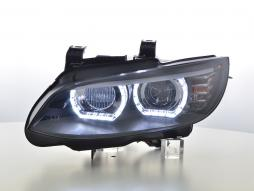 Daylight headlights xenon LED daytime running light mit AFS BMW series 3 E92/E93 Yr. 06-10 black