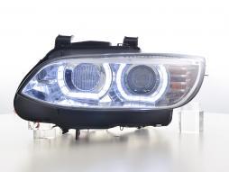 phares Xenon Daylight LED feu de jour BMW série 3 E92/E93 année de costr.  06-10 chrome