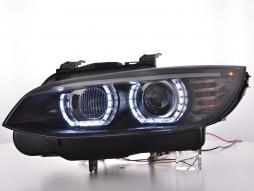 Daylight Xenon Scheinwerfer LED Tagfahrlicht BMW 3er E92/E93 Bj. 06-10 schwarz
