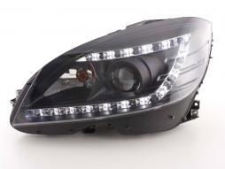 Scheinwerfer gebraucht Daylight Mercedes C-Klasse Typ 204 schwarz Xenon
