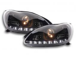 Scheinwerfer Daylight Mercedes S-Klasse W220 Bj. 02-05 schwarz