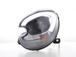 Scheinwerfer Set Xenon Daylight LED TFL-Optik Mini Countryman (R60) Bj. 10-17 schwarz