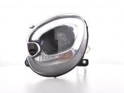 Scheinwerfer Daylight LED TFL-Optik Mini Countryman R60 Bj. 10-17 schwarz