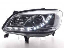 Scheinwerfer Daylight Set gebraucht Opel Zafira Typ A Bj. 99-04 chrom