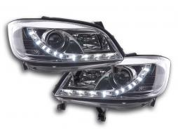 Scheinwerfer Daylight Opel Zafira A Bj. 99-04 chrom