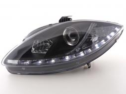 Daylight headlight  Seat Leon type 1P / Altea/Toledo type 5P black