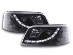 Daylight headlight  VW Bus type T5 Yr. 03-09 black