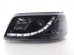 Scheinwerfer Daylight Set gebraucht VW Bus Typ T5 Bj. 03-09 schwarz