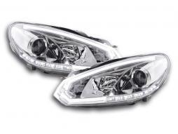 Tagfahrlicht Scheinwerfer Daylight VW Golf 6 Bj. 08-12 chrom