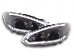 DRL Daylight headlight VW Golf 6 Yr. 08-12 black