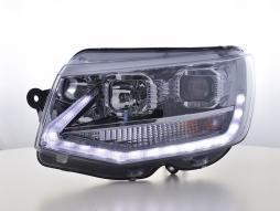 phares Daylight LED feu de jour VW transporter T6 année de costr.  dès 2015 chrome