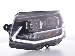 Scheinwerfer Daylight LED Tagfahrlicht VW Bus T6 Bj. ab 2015 schwarz