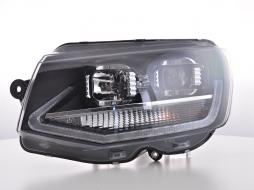 headlights Daylight LED daytime running light  VW Bus T6 year from 2015 chrome