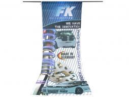 Fahne FK - 120 x 300 cm