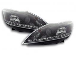 Scheinwerfer Daylight Ford Focus 3/5-trg. Bj. 08- schwarz