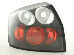 Taillights Audi A4 saloon type 8E Yr. 01-04 black