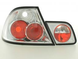Rückleuchten Set gebraucht Heckleuchten BMW 3er Coupe Typ E46 Bj. 99-02 chrom
