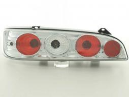 Rückleuchten Set Fiat Seicento Typ 187 Bj. 98-07 chrom