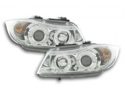 headlight BMW serie 3 type E90/E91 Yr. 05-08 chrome