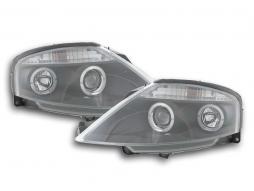 Scheinwerfer Citroen C3 Bj. 02-08 schwarz