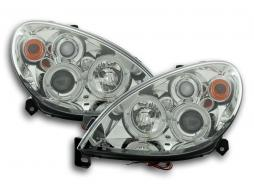Scheinwerfer Citroen Xsara Typ N7 Bj. 00-05 chrom