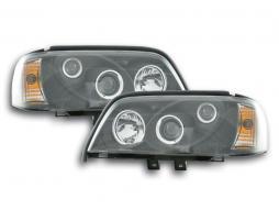 Scheinwerfer Set Mercedes C-Klasse Typ W202 schwarz