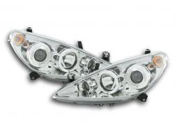Scheinwerfer Peugeot 307 Bj. 01-06 chrom