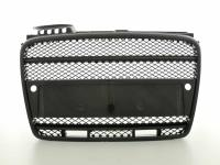 Sportgrill with position light Audi A4 8E Yr. 04-07 with parking sensors black