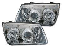 Scheinwerfer Design gebraucht VW Bora (Typ 1J) Bj. 98-05 chrom
