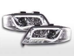 Daylight headlight LED daytime running lights Audi A6 type 4B 97-01 chrome