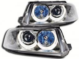 Scheinwerfer Angel Eyes Set gebraucht für VW Passat Typ 3BG Bj. 00-05 chrom