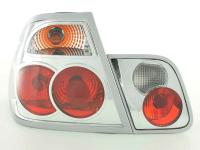 Rear lights BMW 3er Limo Typ E46 Yr. 98-01 chrome with indicator