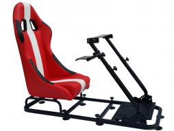 Game Seat for PC and game consoles material red/white