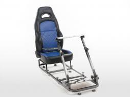FK Gamesitz Spielsitz Rennsimulator eGaming Seats Silverstone schwarz/blau schwarz/blau