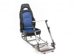 FK Gamesitz Spielsitz Rennsimulator eGaming Seats Silverstone schwarz/blau