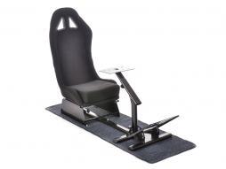FK sedile di giocho simulatore corsa per giochi di corsa per computer e consoli nero