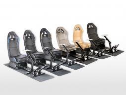 FK game seat racing simulator for racing games at PC or consoles Carbonlook black