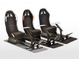 FK game seat racing simulator for racing games at PC or consoles black