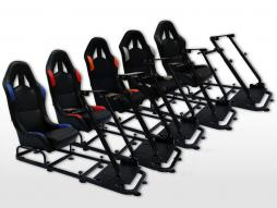 FK game seat game seat racing simulator eGaming Seats Monaco textile fabric / fabric [different colors]