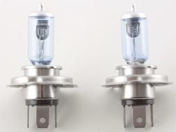 Halogen bulb Set (2 piece) universal H4 12V/60/55W superwhite