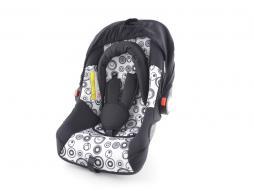 seggiolino auto seggiolino auto per neonati sedile auto nero/bianco gruppo 0+, 0-13 kg