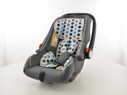 seggiolino auto seggiolone per bambini sedile auto nero/bianco/blu