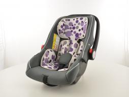 seggiolino auto seggiolone per bambini sedile auto nero/bianco/porpora