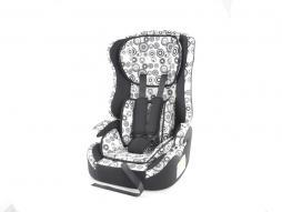 Kinderautositz Kindersitz Autositz schwarz/weiß Gruppe I-III, 9-36 kg