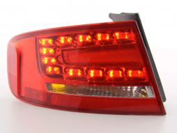 Zubehör Rückleuchte links Audi A4 B8 8K Limousine Bj. 07- rot/klar