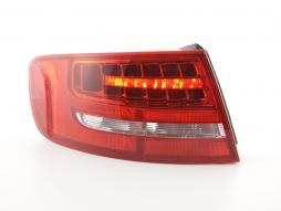 spare parts Taillight LED left Audi A4 Avant (8K) Yr. 08-11 red/clear