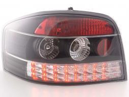 LED Rückleuchten Set Audi A3 Typ 8P Bj. 03-05 schwarz