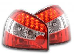 Taillights LED Audi A3 (8L) Yr. 96-04 red/clear